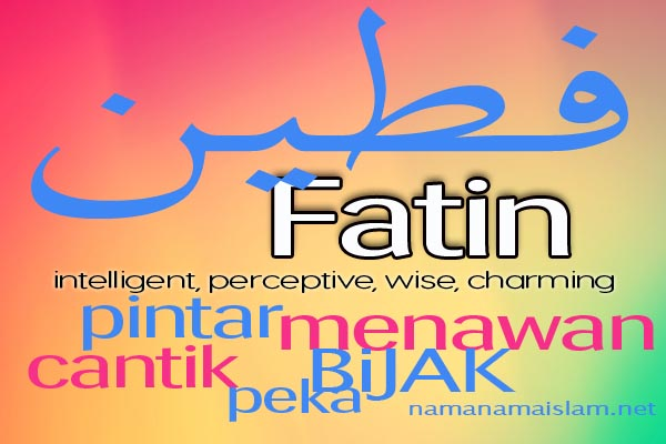 Fatin is my name